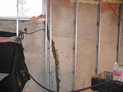 Crack Injection. This is often the easiest, least costly and least intrusive method to repair a poured concrete wall